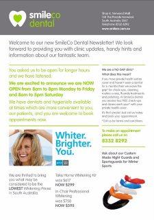 Smileco Newsletter pg 2
